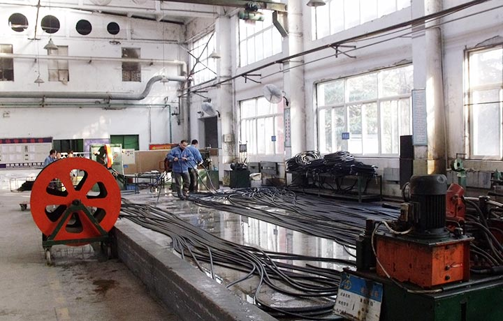 Production Line Of Hydraulic Rubber Hose