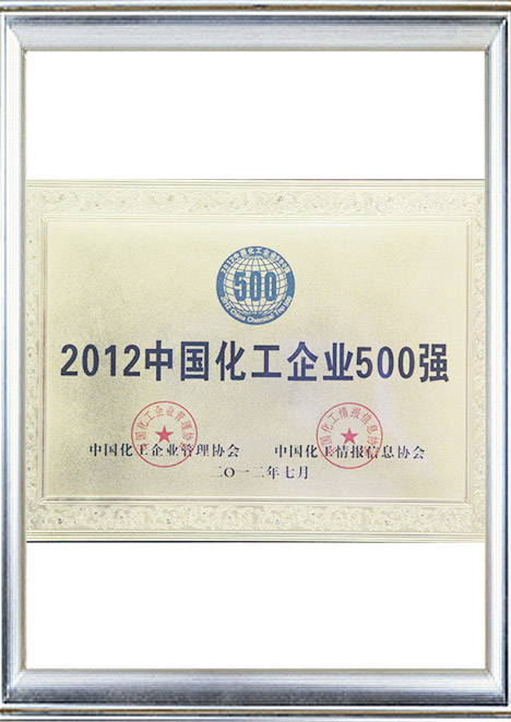 One of Top 500 Chemical Industry