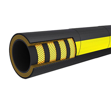 Type 806 High Pressure Hydraulic Rubber Hose with Four Layers of Spiraled Wire